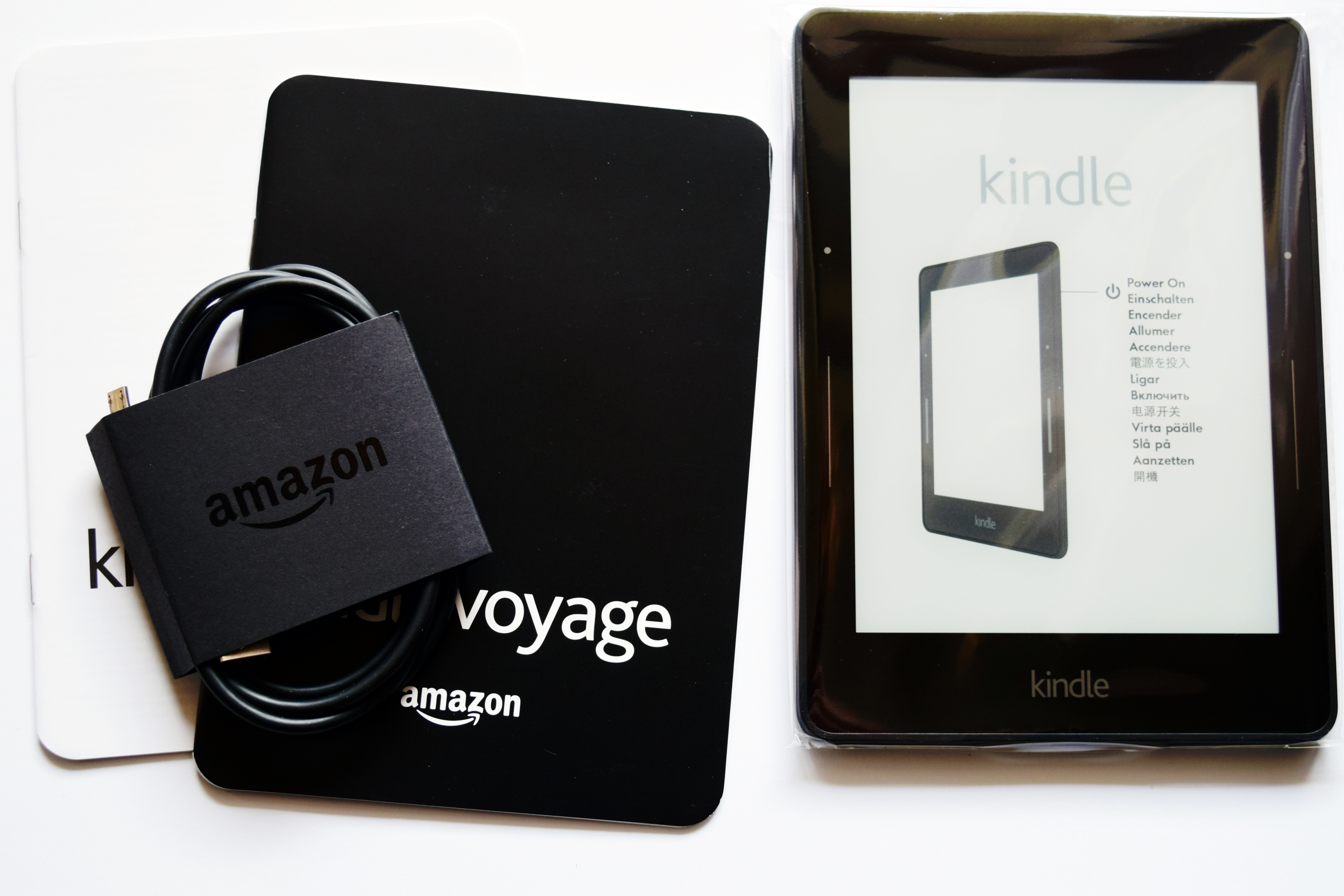 Recenzja e-booka Kindle Voyage z Amazon.com.